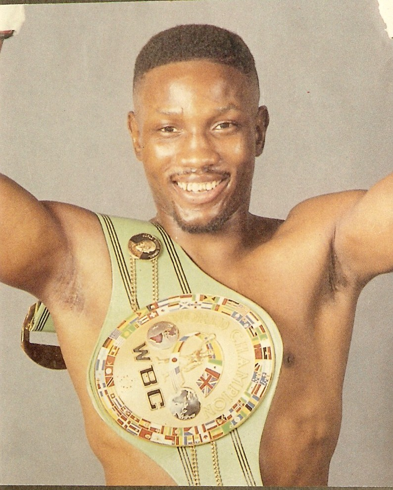 The top 16 boxers to win titles in four or more weight for The whitaker