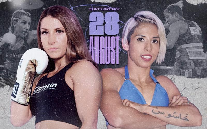 Watch Boxing Under The Stars: Kim Clavel vs Maria Soledad Vargas 8/28/21