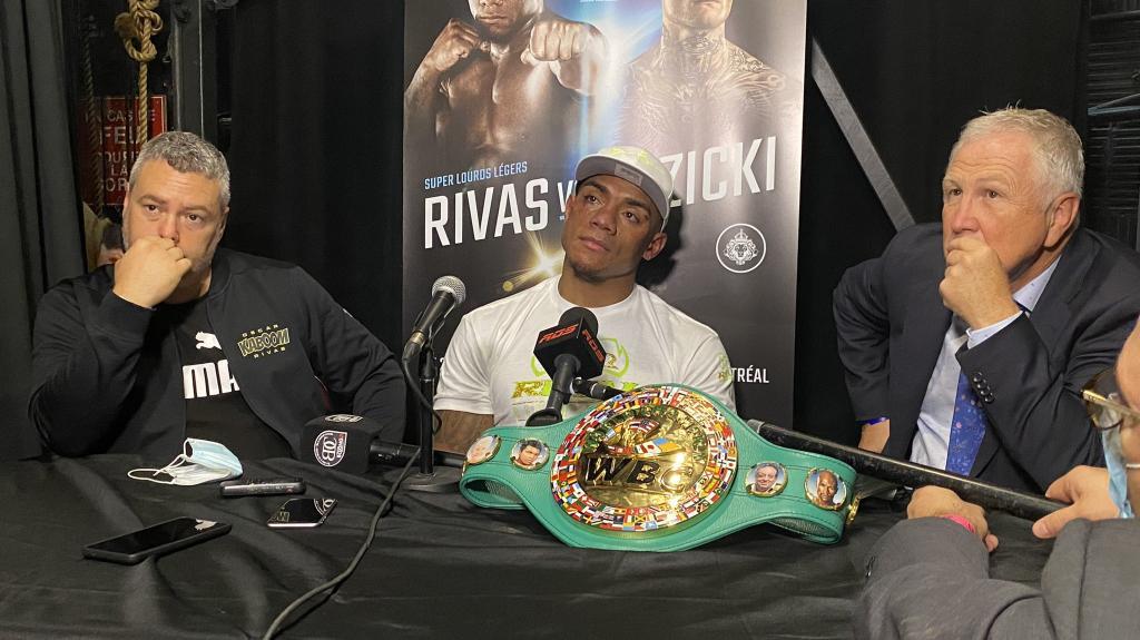 Oscar Rivas defeats Ryan Rozicki for the first Bridgerweight World Title | Boxen247.com (Kristian von Sponneck)