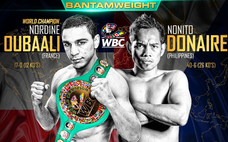 Oubaali Working Like A Trojan To Defend Wbc Crown Against Donaire World Boxing Council